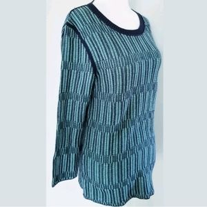 Tory Burch Sweaters - TORY BURCH KNIT SEAFOAM SWEATER SZ L 10 12